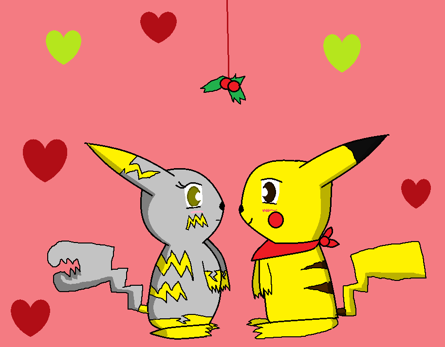 Merry christmas from the pika-lovers by xlightbluesnowflakex