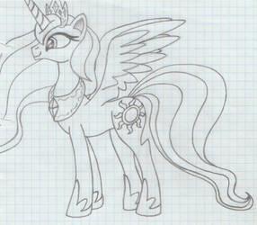 Princess Celestia (Luna-like)