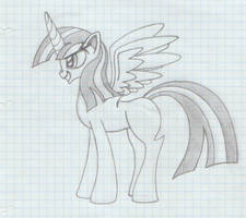 Princess Twilight (adult, with wings)
