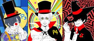 So a clown, vampire, and warlock walk into a room-