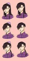 Amagumo Jiei Hair Styles
