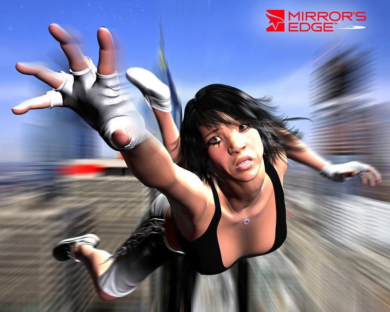 Mirrors edge..Dont look down by rusomoore on DeviantArt