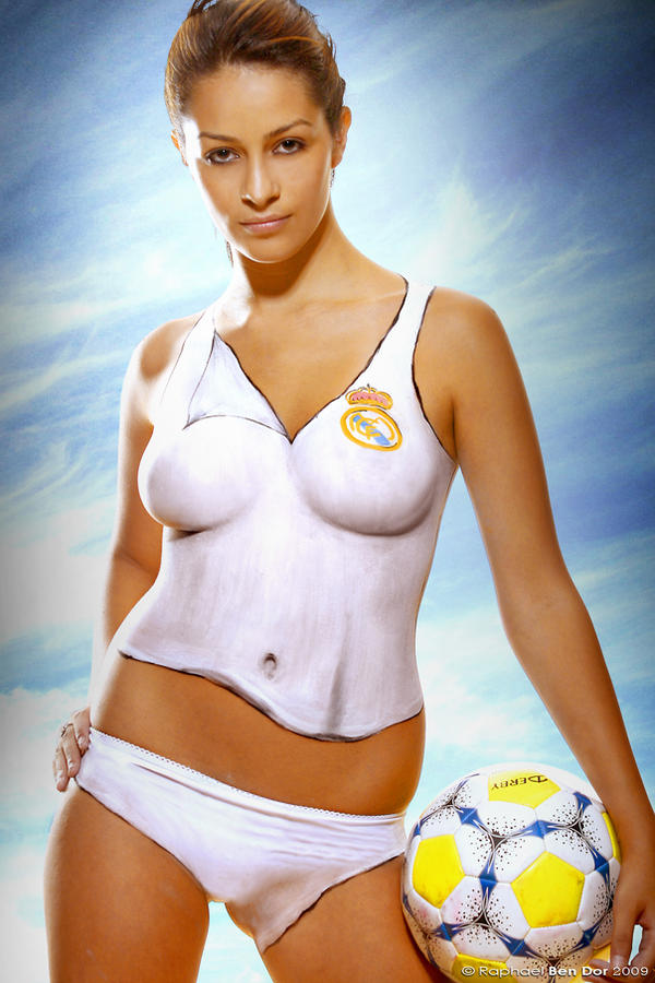 Real Madrid Bodypainting I by Raphael-Ben-Dor