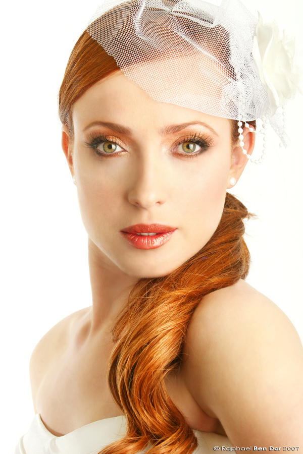 Redhead I by Raphael-Ben-Dor