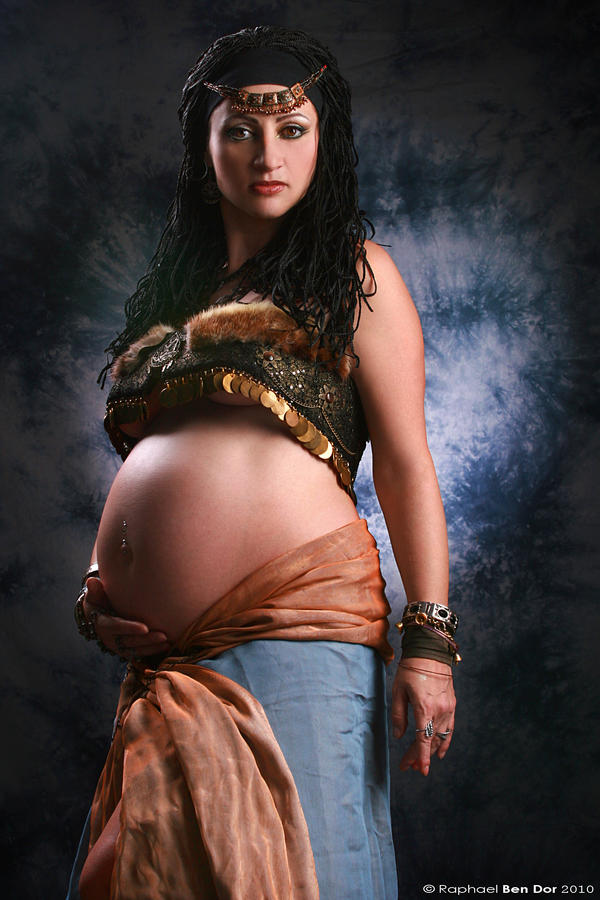 Pregnancy XVI by Raphael-Ben-Dor