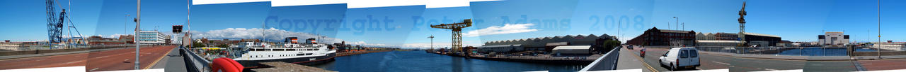 Yellow Crane Panorama