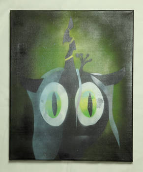 Chrysalis Canvas Painting