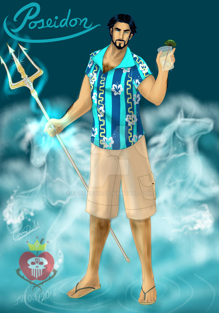 Poseidon Percy Jackson by erospiscis on DeviantArt