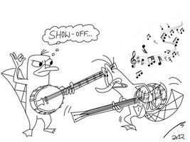 Banjo Playin' Platypi