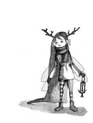 Little Wood Fairy by Elyan-Dreams