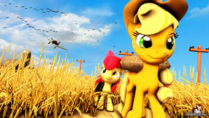 In the Wheat Fields by TheWhitePone