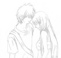 Kazehaya y Sawako by Bleiy