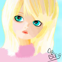 Rose With Blue Eyes by Bleiy