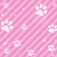 Paws Pattern Kawaii by Bleiy