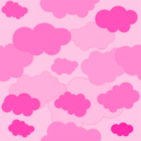 Nubes rosas by Bleiy
