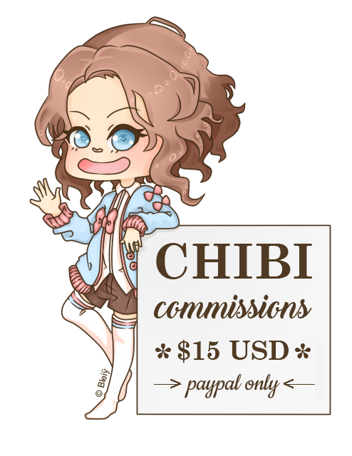 Chibi Commssions [Paypal only] by Bleiy