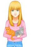 [C] Laura y sus gatos
