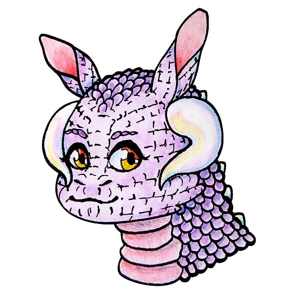 Conejo-Dragon by Bleiy