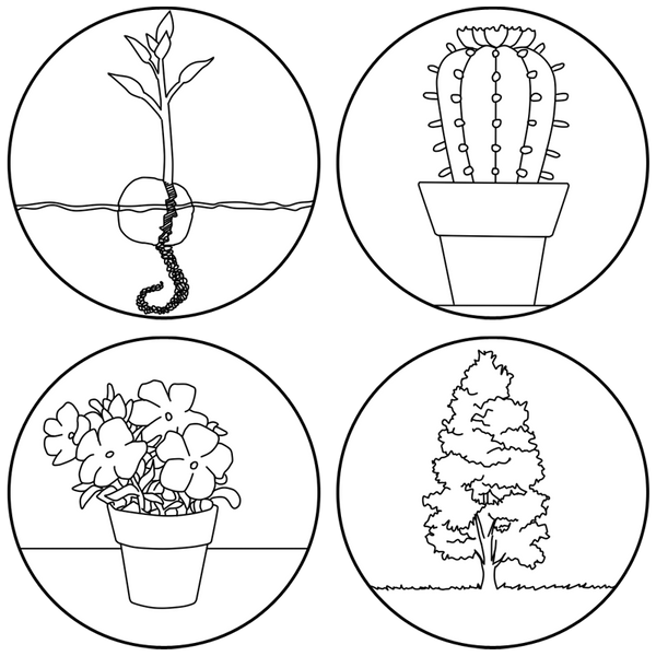 [Plasta tu arte] Plantas by Bleiy