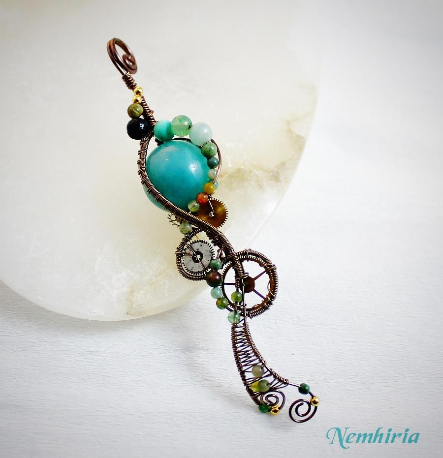Steampunk Medusa by Nemhiria
