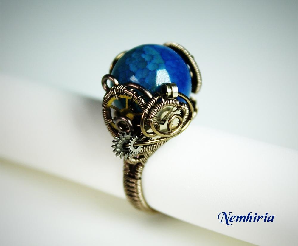 The Blue Engine by Nemhiria