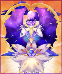 Sun and Moon by neuriart
