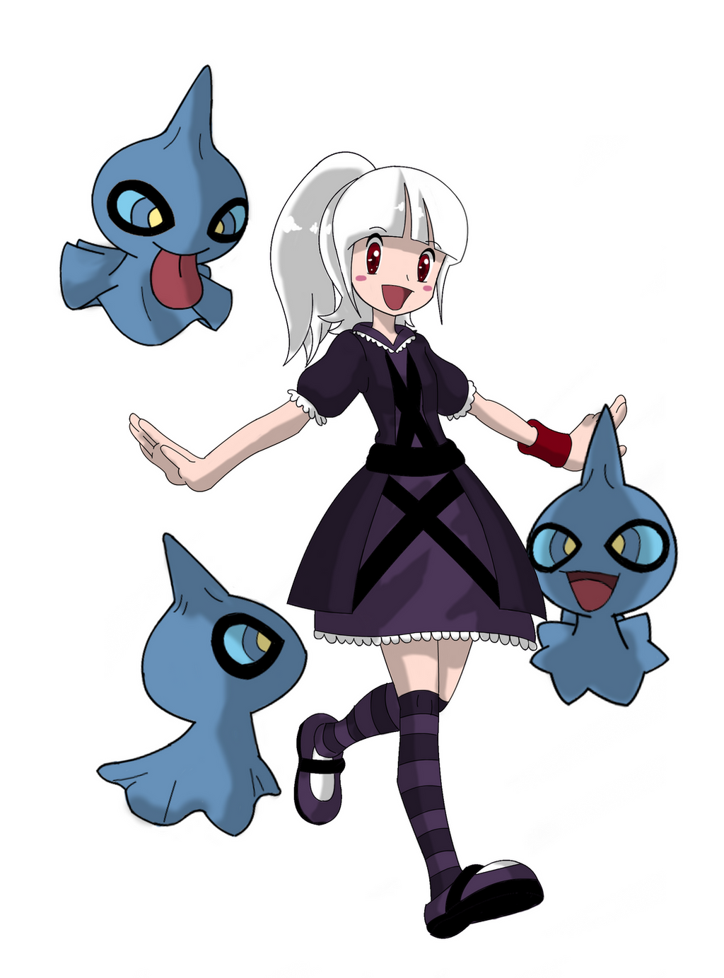 [Pokemon Ranger] Ghost Expert Mimi by mizusawa-yuki