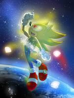 [Sonic the Hedgehog] Super Sonic Transformation 2 by mizusawa-yuki