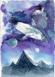Beyond reality - Watercolor