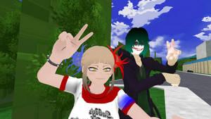 Toga Quinn And Shigaraki Joker