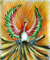 The Legendary Ho-oh by himanshu-kapoor
