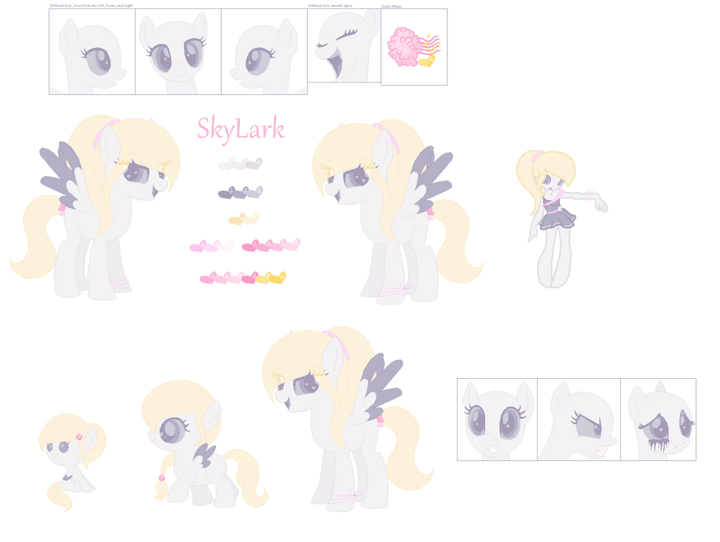 SkyLark Ref. Sheet by Nanobun