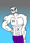 Shirtless King Dice