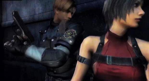 AdaXLeon screenshot by BlacknessAffection