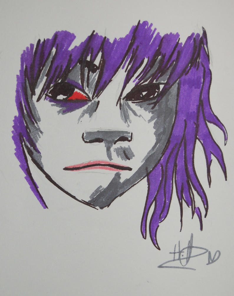 Noodle's bruises by The-Cyclops