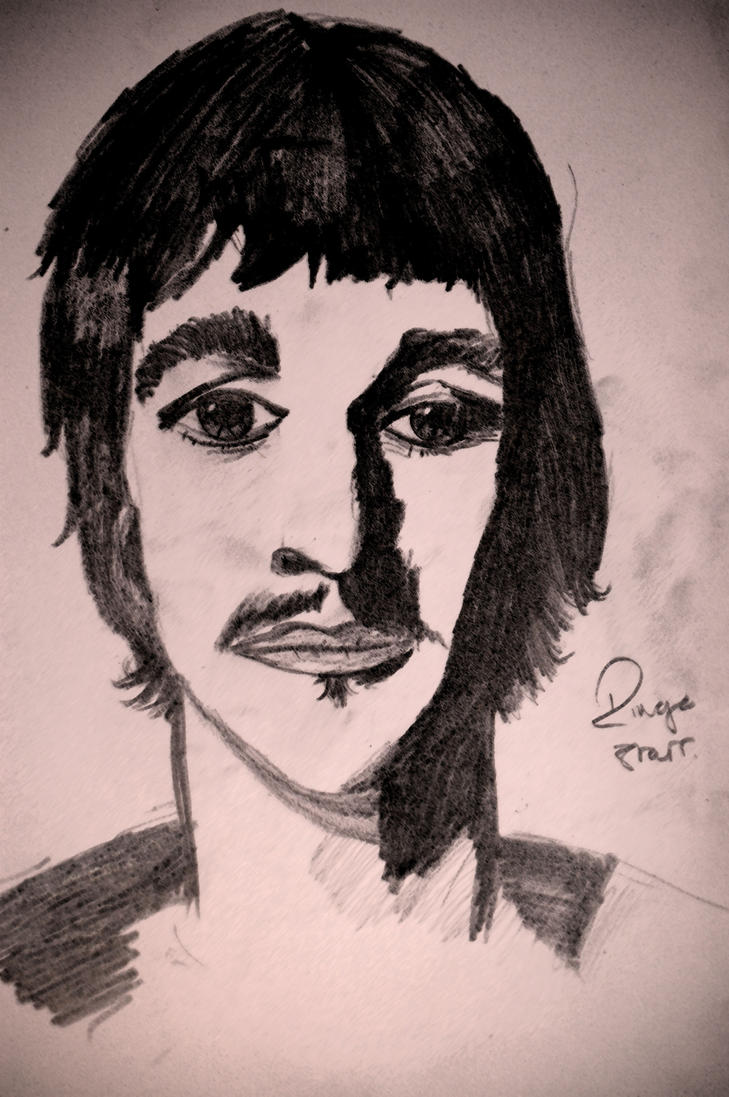 Because I love Ringo Starr by The-Cyclops