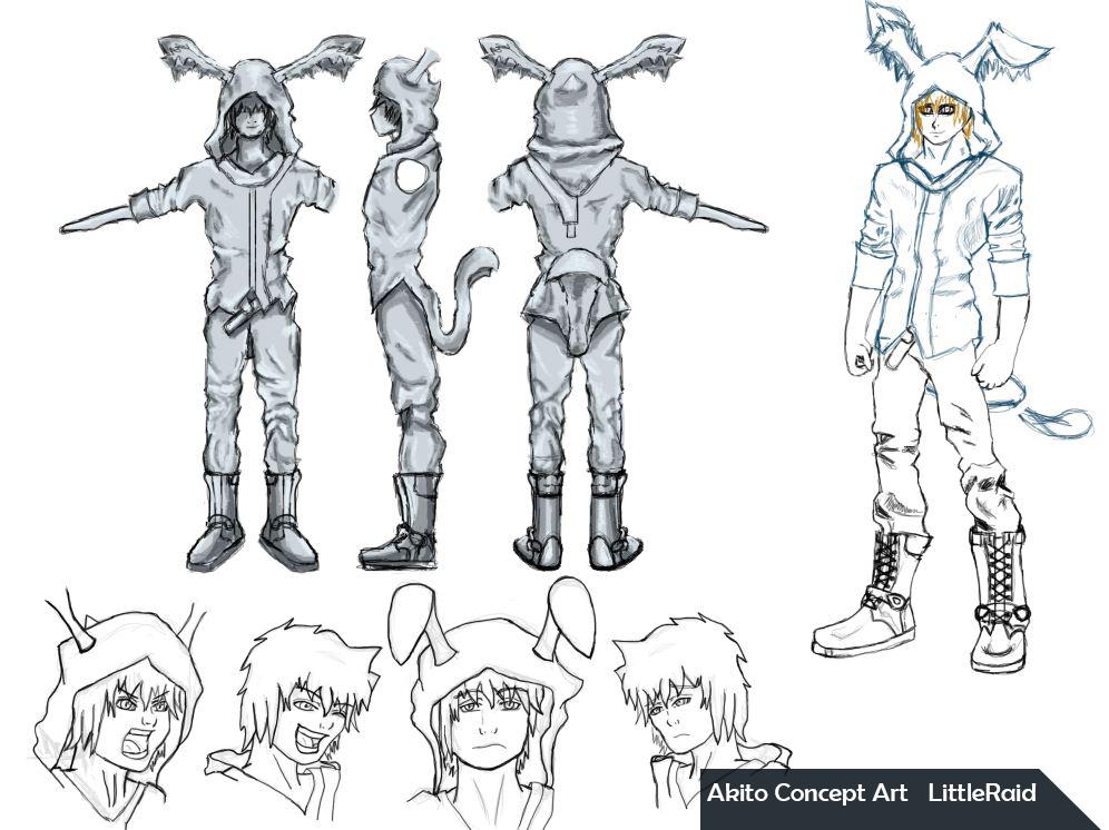 Akito Progress by Little-Raid