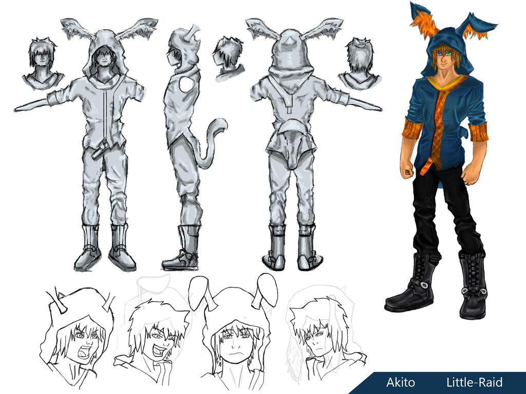 Akito Concept Art by Little-Raid