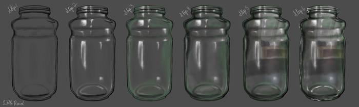 Glass Jar Tutorial by Little-Raid
