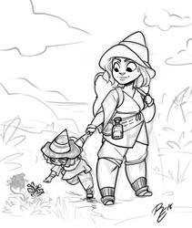 Witchy Travelers by RErrede