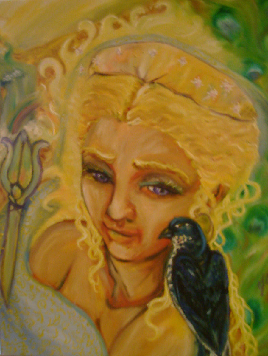 Hera and the Cuckoo by templeofapollon
