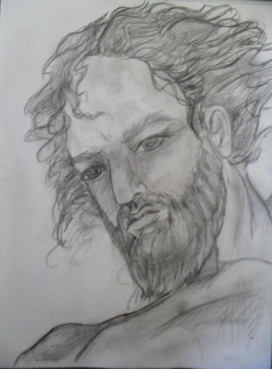 Poseidon portrait by templeofapollon