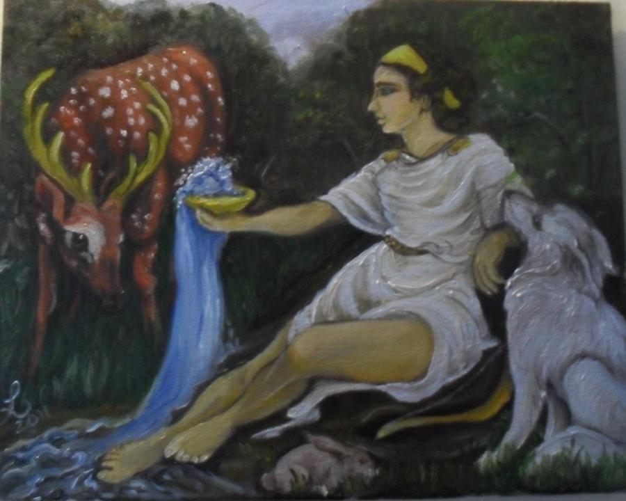 Artemis commission by templeofapollon