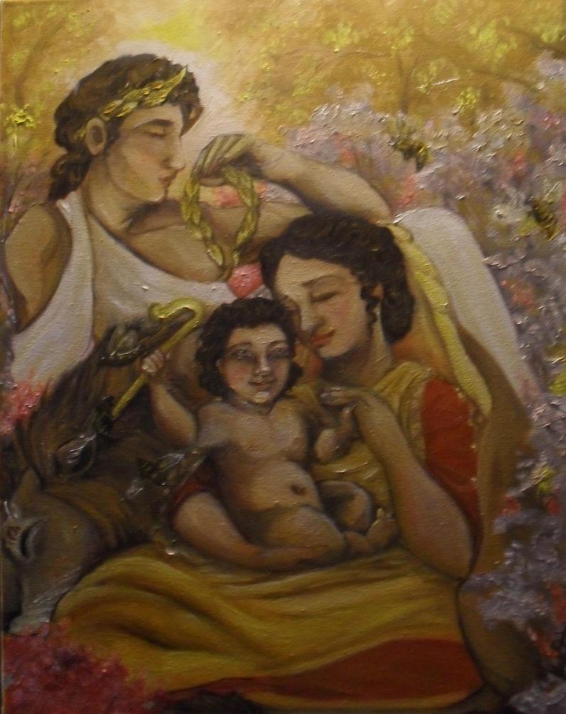 Divine Family: Aristaios by templeofapollon