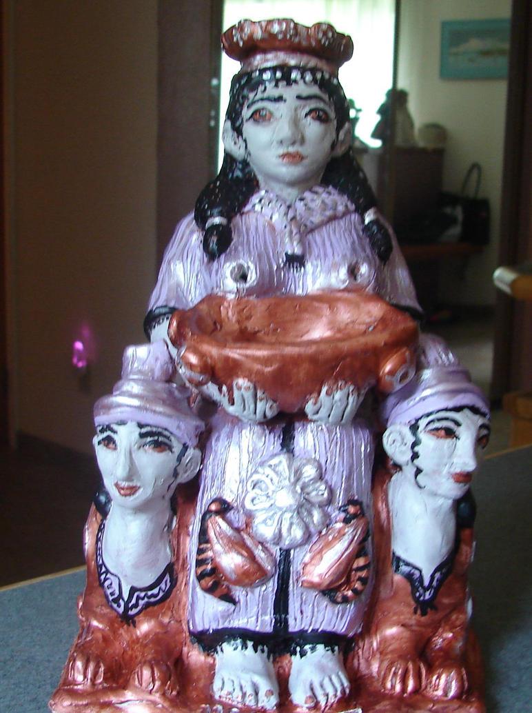 hanna-hanna vessel/statue (commission) by templeofapollon