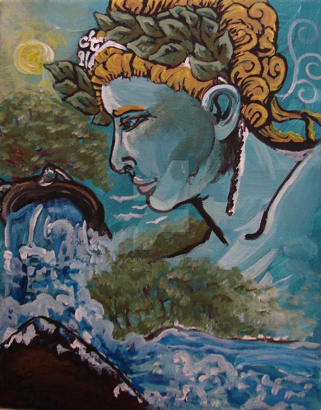 Apollon Daphneios by templeofapollon