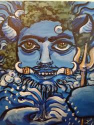 Nethuns  (Etruscan god) by templeofapollon