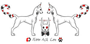 Creepy-Cute Canine (CLOSED ADOPT)