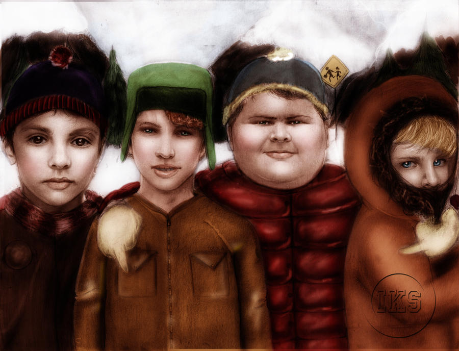 19 Pieces Of South Park Fan Art Drawn Realistically