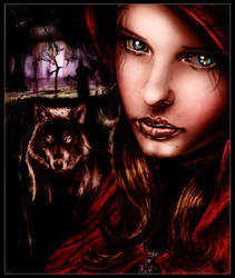 .:Red Riding Hood by IsaiahStephens